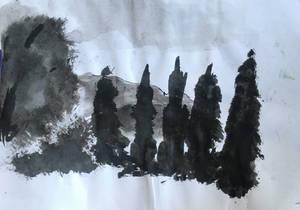 Landscape study - sketch #2