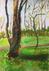 Quick landscape  study #3