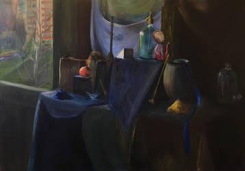 Still Life by a Window by Ciryu