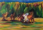 Horses by Ciryu