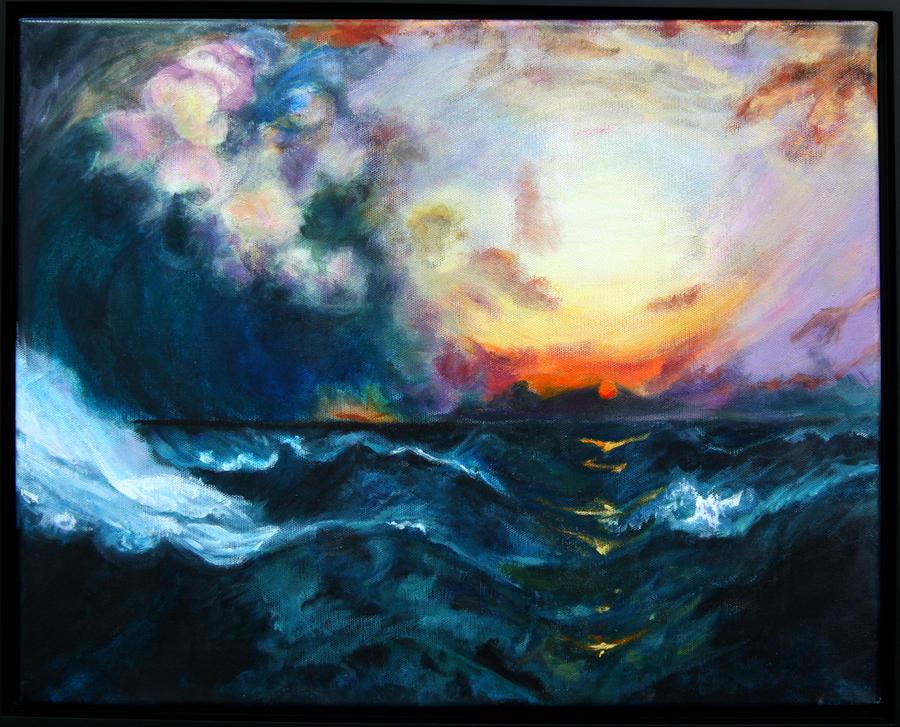 Sunset by lucylucylucylin