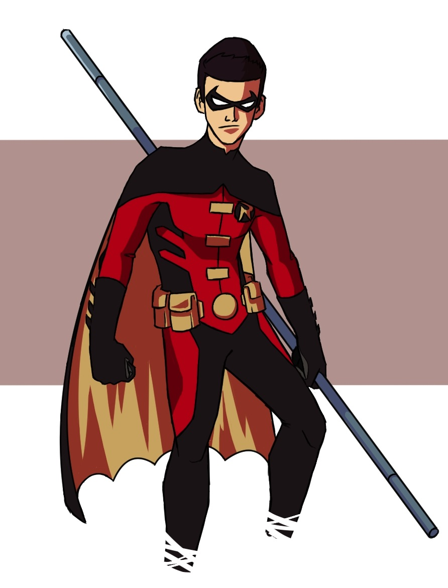 Young Justice: Tim Drake by TheDoubleB on DeviantArt