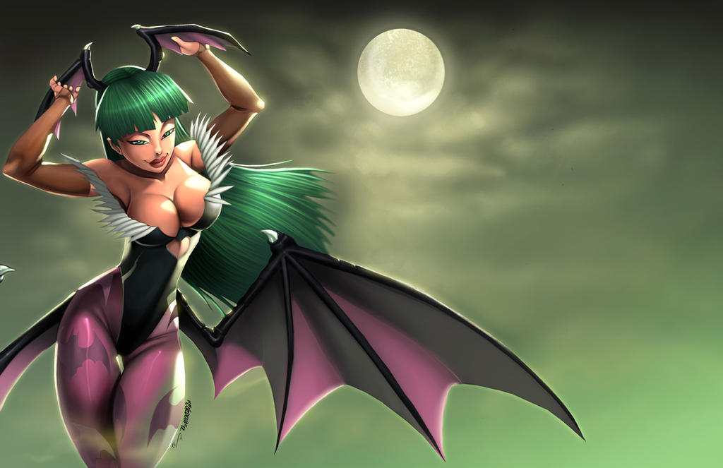Morrigan Color by mennyo