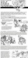 wolf comic tutorial