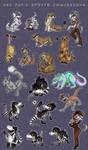 Ash Pup's sprite comissions by Nothofagus-obliqua