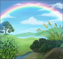 Rainbow by Nothofagus-obliqua