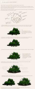 A simple shrub tutorial