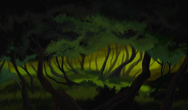 Green crawlspace