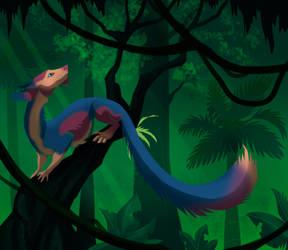 Deep in the Jungle (commission) by Nothofagus-obliqua