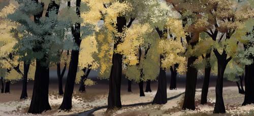 Pale gold by Nothofagus-obliqua