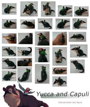Yucca and Capuli figurine