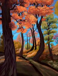 Clear Autumn day