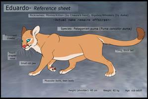 Kittenwhiskers- Reference sheet