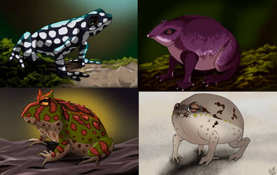 Weekly obscures 10 (March): Four different Toads