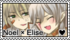 Noel x Elise stamp by HatoriKumiko