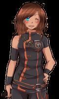 62. Commission for ChikitaWolf by HatoriKumiko