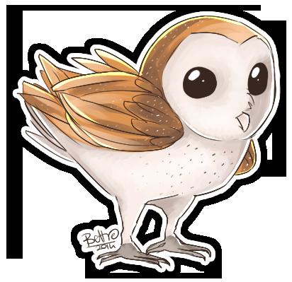 Barn owl by HatoriKumiko