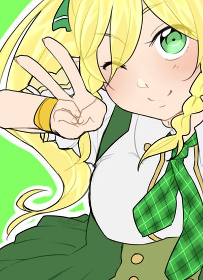 School Girl Leafa by HatoriKumiko