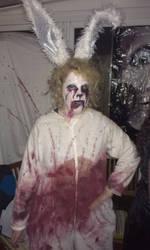 Halloween Zombie Rabbit Costume by SnowiusOwlus