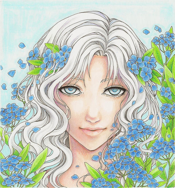 Forget-Me-Not by SongofArianrhod