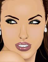 Glamour - Angelina Jolie by xbrainyxbabex