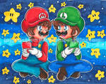 + Collab~ 3DS Star Bros. +