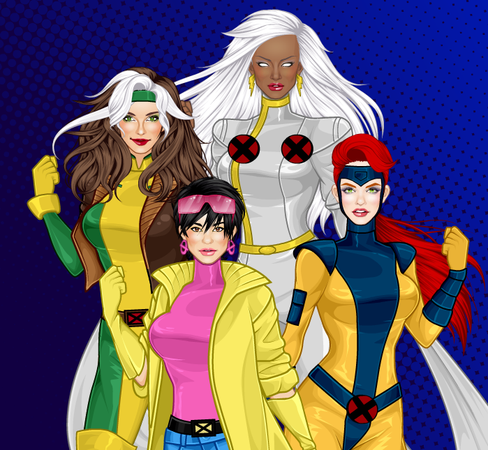 X-Men Heroines (The Animated Series) by MoonStar757