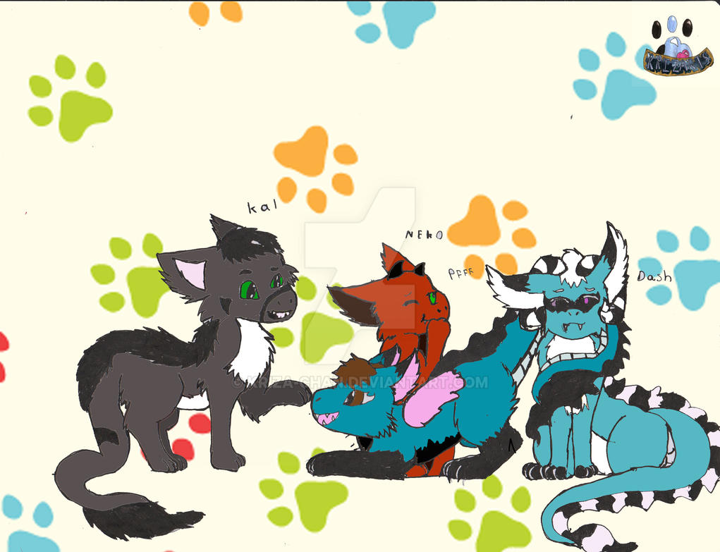 DragoFurrys by Kriza-chan