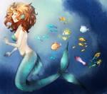 Mermaid Hide-n-seek (colored version)