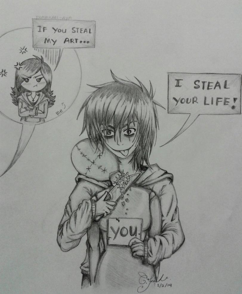You've Been Warned [Ft. Jeff the Killer] by Tsukiakari-Aya