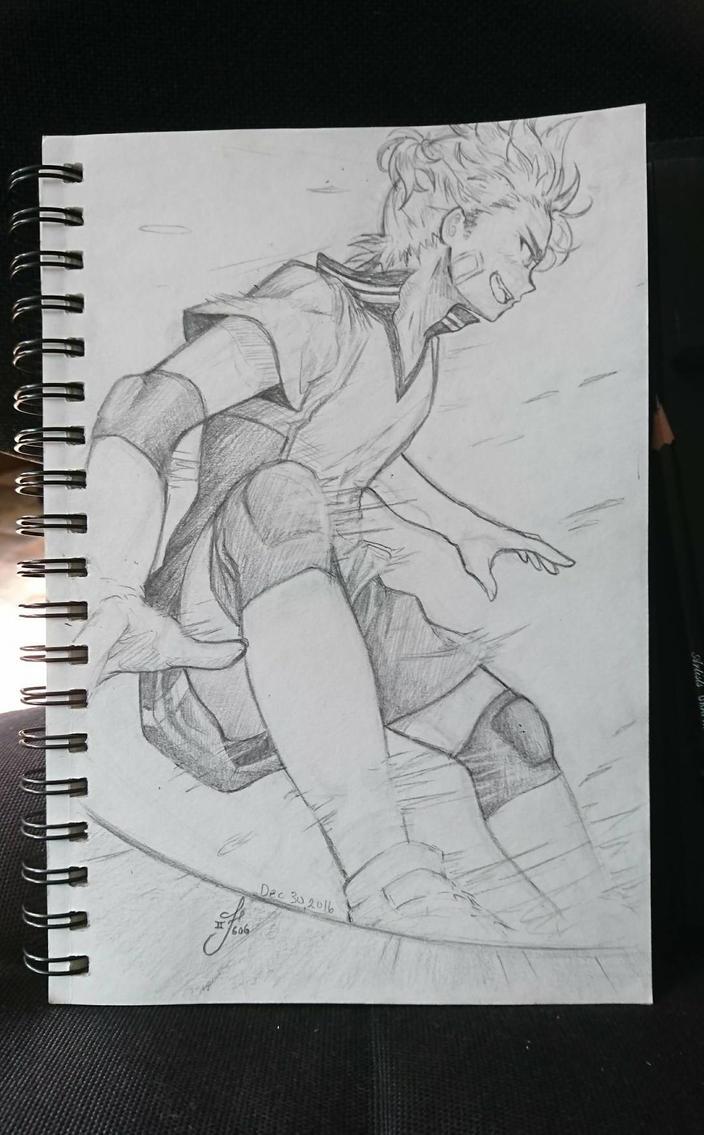 I GOT IT!  (Perspective sketch practice)  by Tsukiakari-Aya