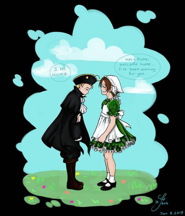 Can a dream come true? [Hetalia- HRE  Italy]  by Tsukiakari-Aya
