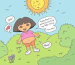 Dora Goes Solo