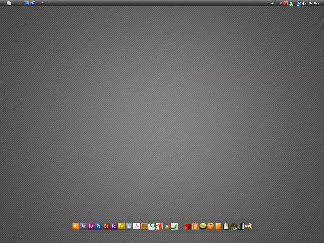 My Desktop by WATER-ARTS