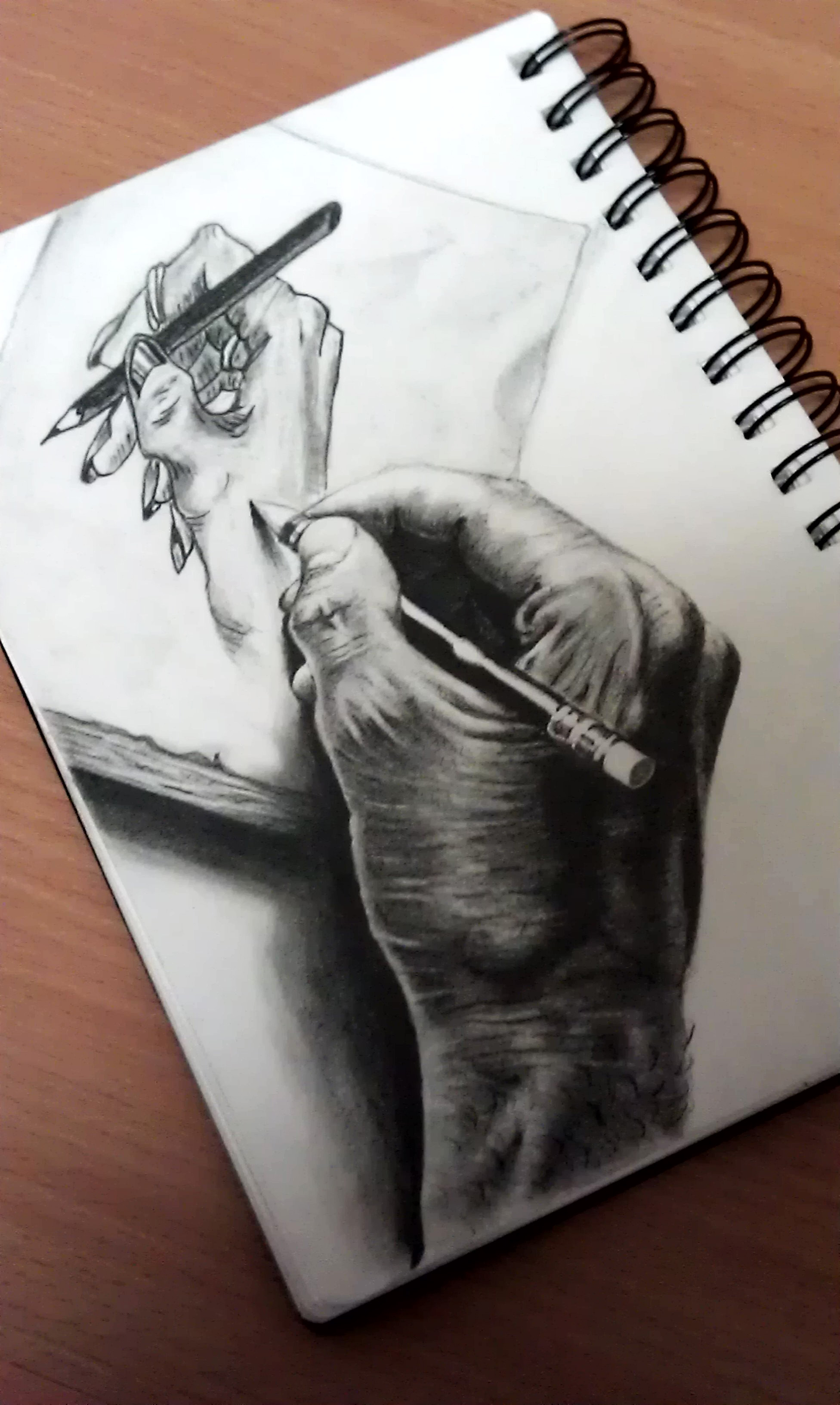 3d Line Drawing Hand : D drawing hand a by omimic on deviantart