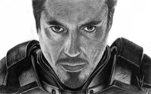 Tony Stark (Iron Man) by oMimic