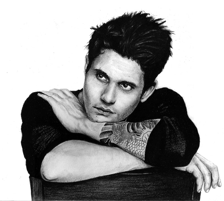 John Mayer Cool Painting: John Mayer By OMimic On DeviantArt