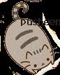 pusheen PNG by SoofMustache