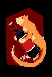 Soda cat by Retku