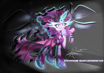 Midnight Sparkle   Pony Version by Yitsune-Melody