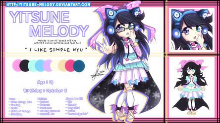 Yitsune Melody | Reference Sheet by Yitsune-Melody
