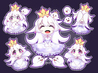 [+SPEEDPAINT] Booette (Queen Boo)| King Boo