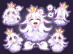 [+SPEEDPAINT] Booette (Queen Boo)  King Boo