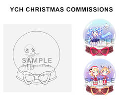 [OPEN] YCH Christmas Commissions! by Yitsune-Melody