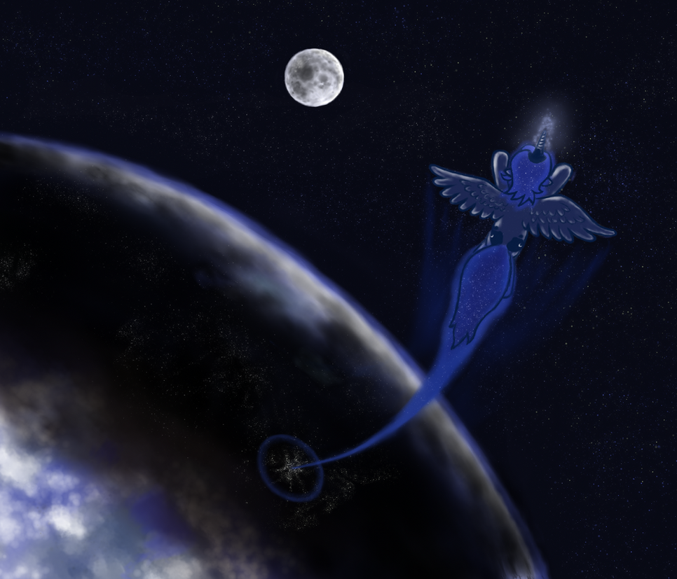 Raising the Moon by grayma1k