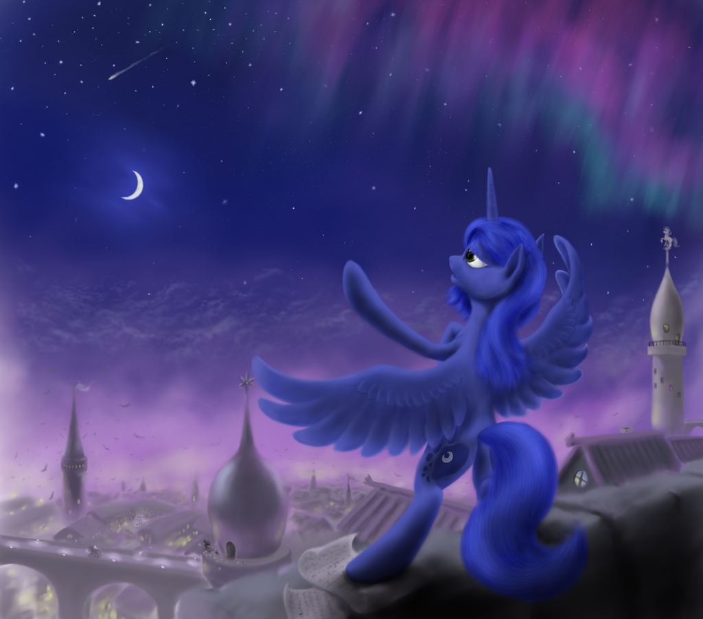 Symphony of the night by grayma1k