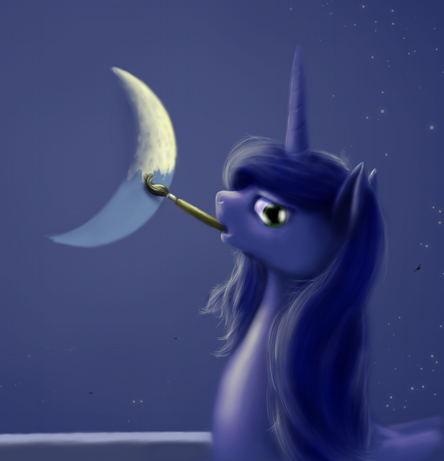 New moon by grayma1k