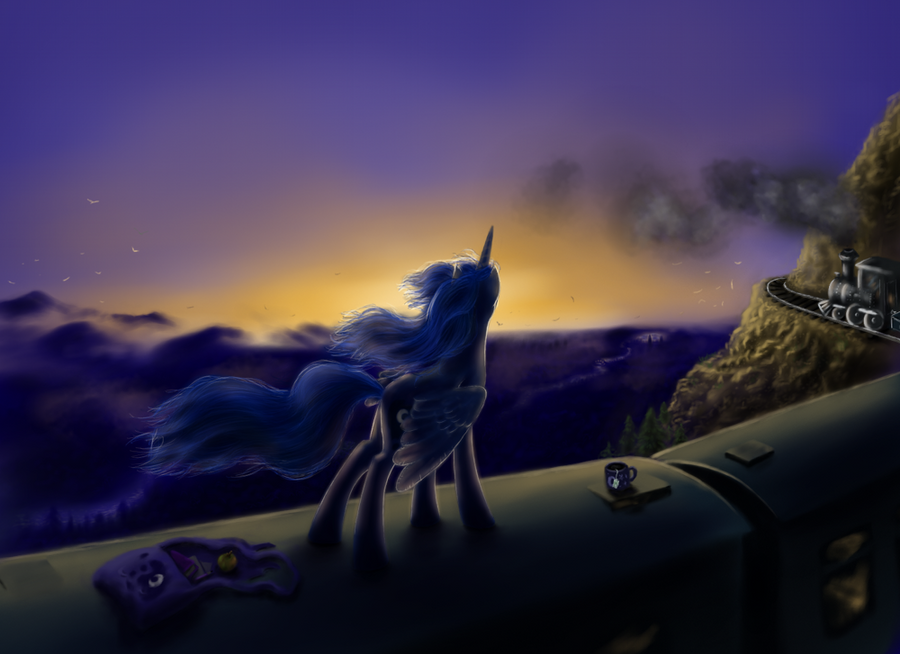 Towards the sunrise by grayma1k