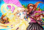Merry go magical Waltz! by AimaiLeafy