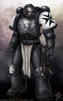 Black Templar - 40K Space Marine by MyNameIsByron